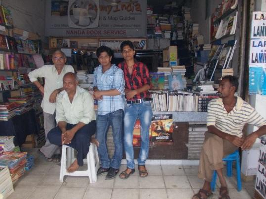 Nanda Book-Shop, Nehru Pace, my favourite book shop