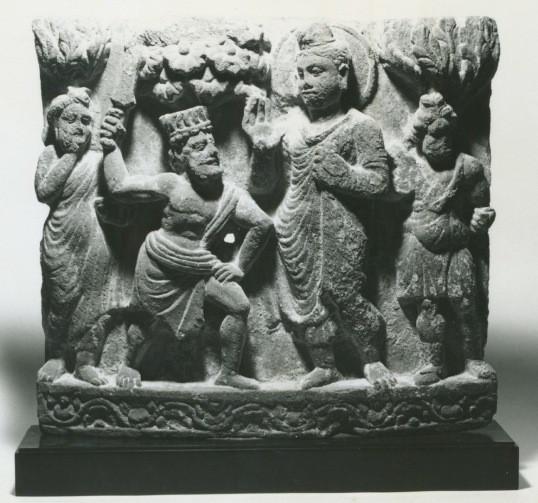 Buddha with Angulimala